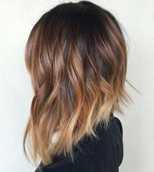 Ombre Color Short Hair