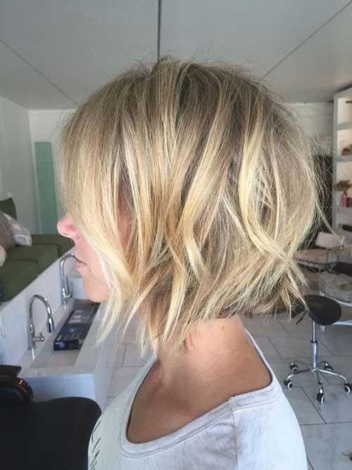 Short Blonde Haircuts
