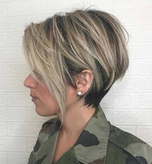 Straight Short Hairstyles