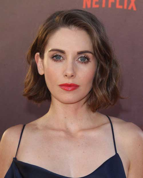 Celebrities Short Hairstyles-12