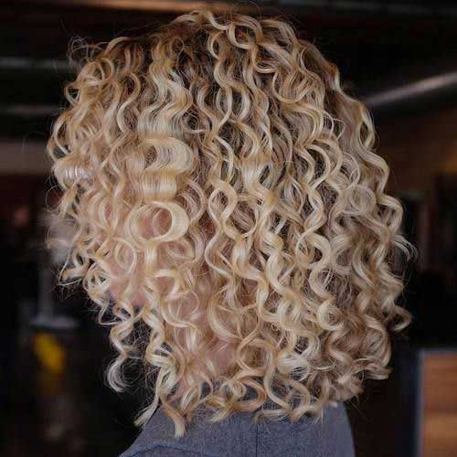 Curly Short Hairstyles for Ladies-12