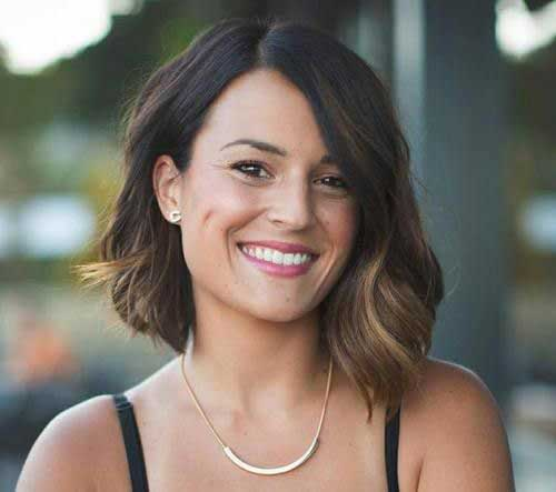 Short Hairstyles for Round Face-12