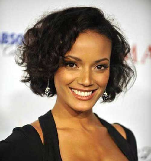 Curly Short Hairstyles for Ladies-15