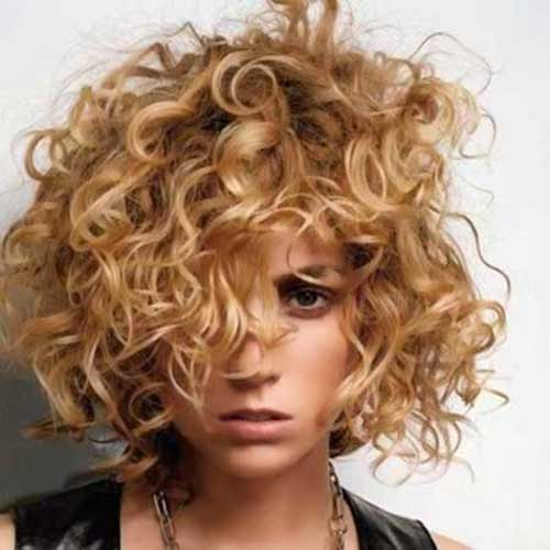 Short Curly Hairstyles-16