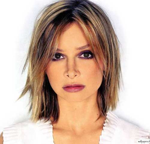 Best Short Hairstyles for Round Face