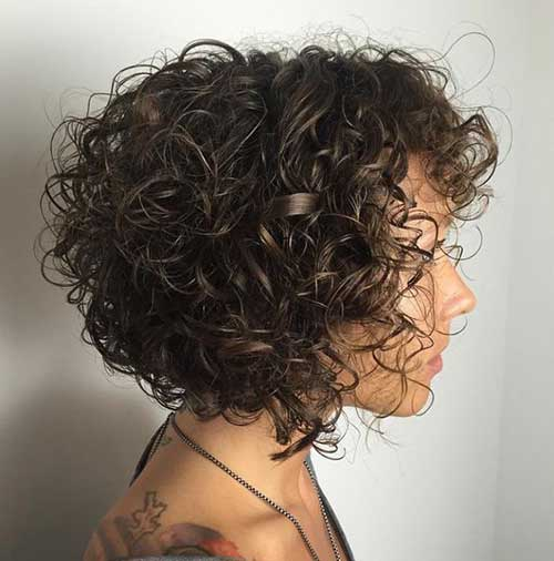 Short Curly Haircuts | 15 Pics Of Short Curly Hairstyles For Ladies Short Hairstyles