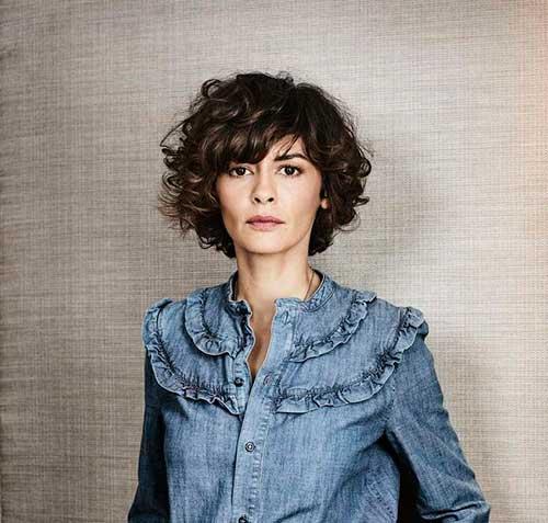 Audrey Tautou Short Hair