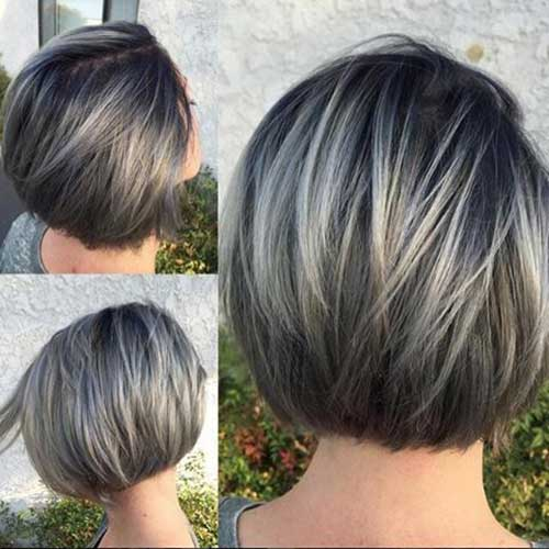 Elegant Short Highlighted Hair Color Ideas | Short Hairstyles 2016 ...