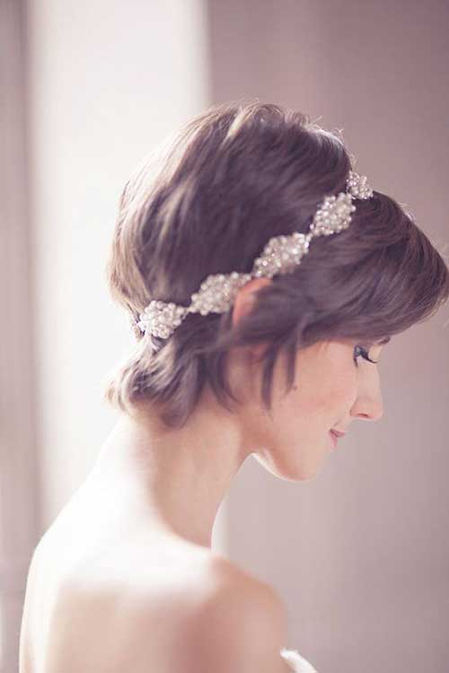 Wedding Short Hairstyles-12