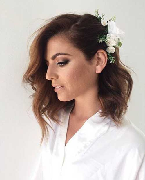 Wedding Short Hairstyles-13