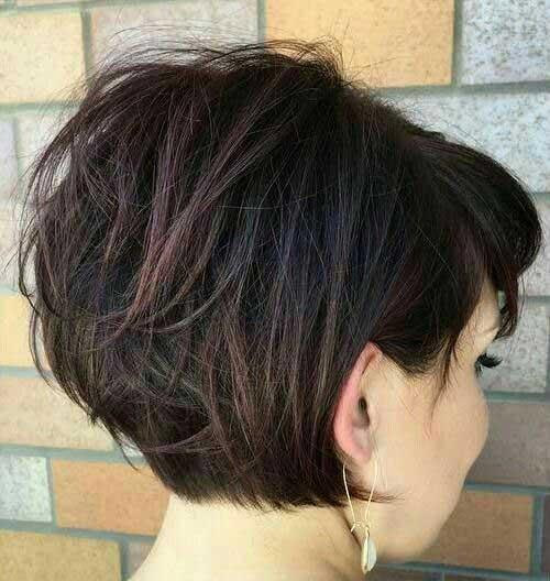 Brunette Short Haircuts-14