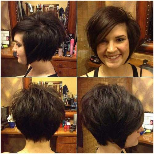 Charming Short Brunette Hairstyles Short Hairstyles 2017