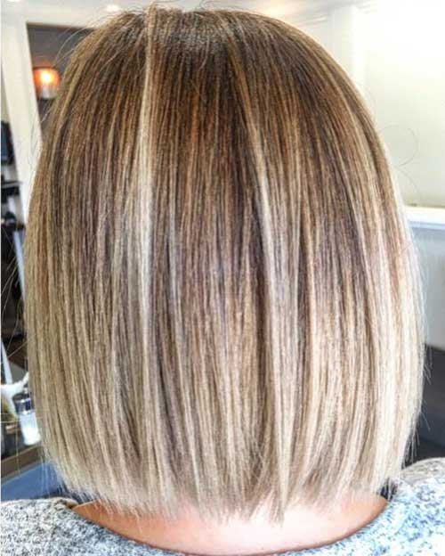 Elegant Short Highlighted Hair Color Ideas Short Hairstyles 2017
