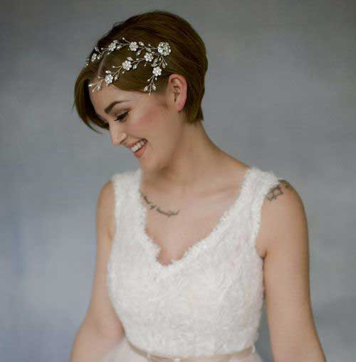 Wedding Short Hairstyles-6