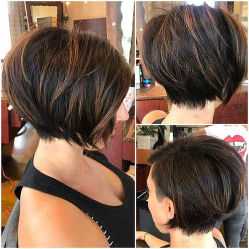 Brunette Short Haircuts-7