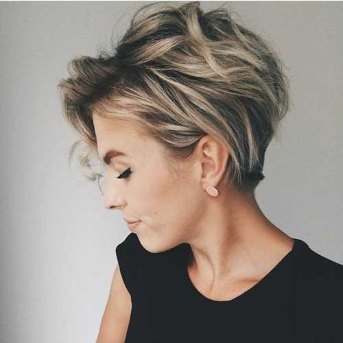Very Short Highlighted Hair Find Your