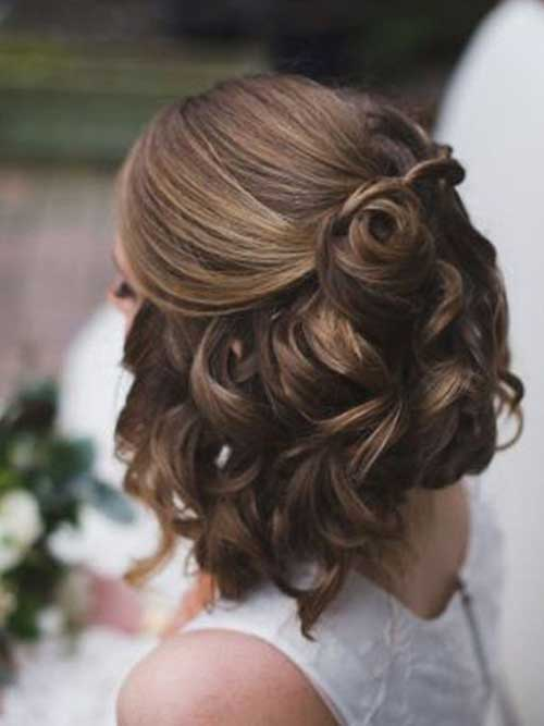 Wedding Short Hairstyles-7