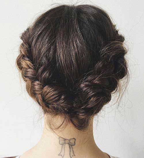 Braided Short Hair Styles