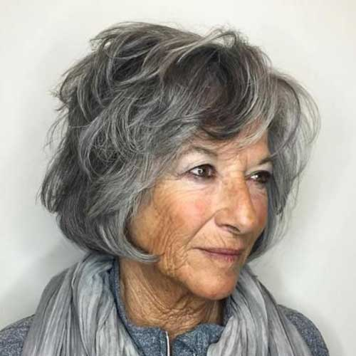 Short Hair Cut for Older Women