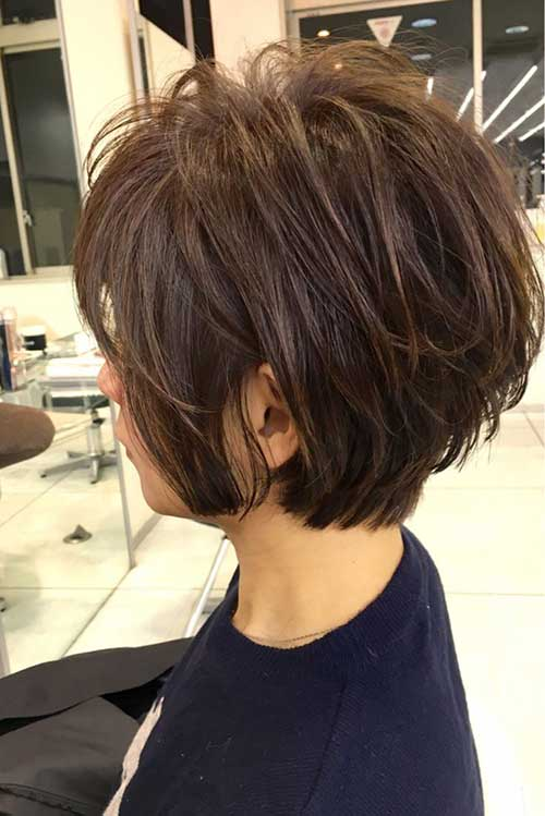 Really Modern Short Hairstyles For Older Women