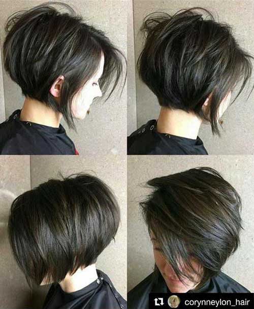 Short Haircuts Brunette
