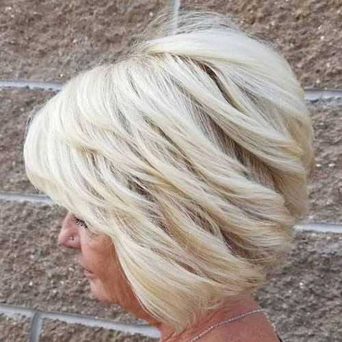 Short Haircut for Older Ladies