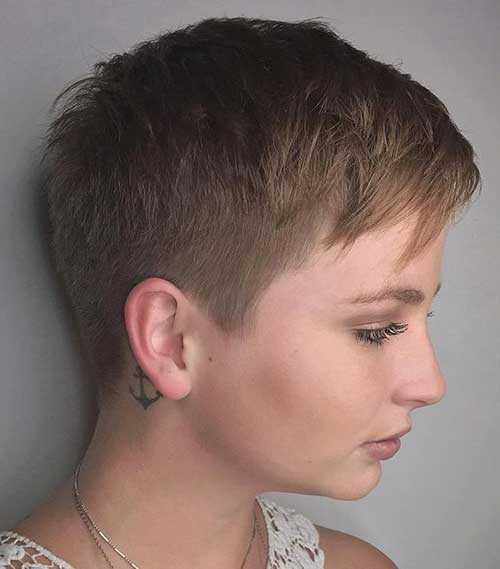 Super Short Haircuts