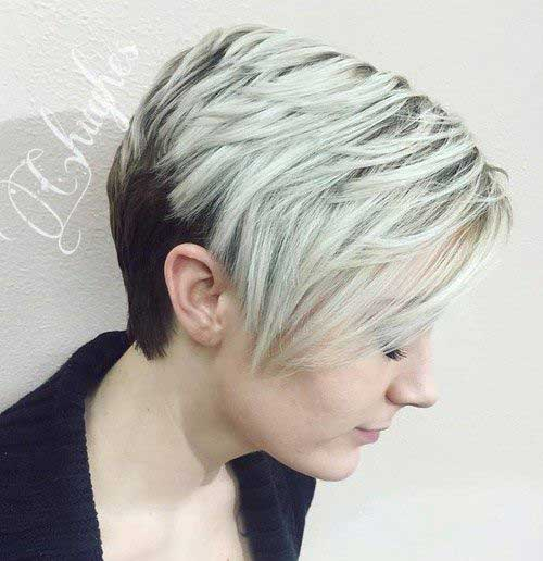 Trendy Short Hair