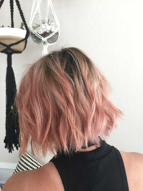 Pink Short Hairstyles-11