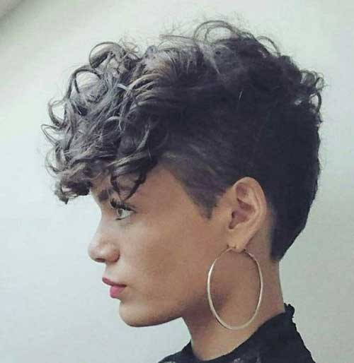 Short Haircuts for Curly Hair-13