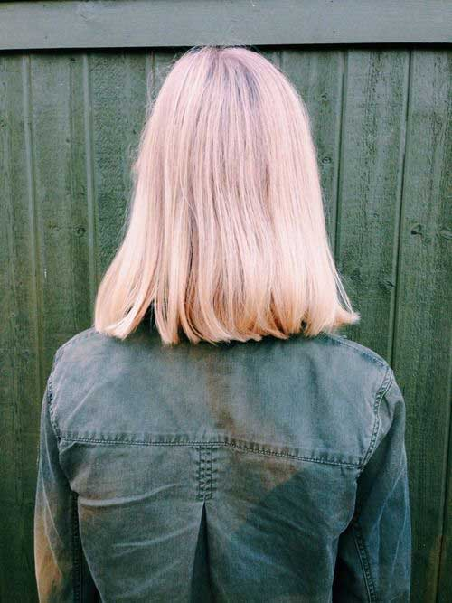 Tumblr Style Pale Pink Short Hair Colors Short