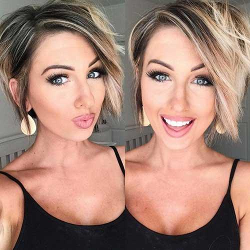 Kurze Frisuren für Feines Haar-9