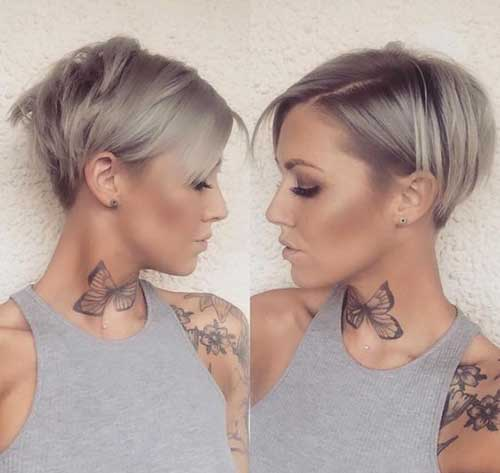 Famous Short Haircuts For Fine Hair Short Hairstyles