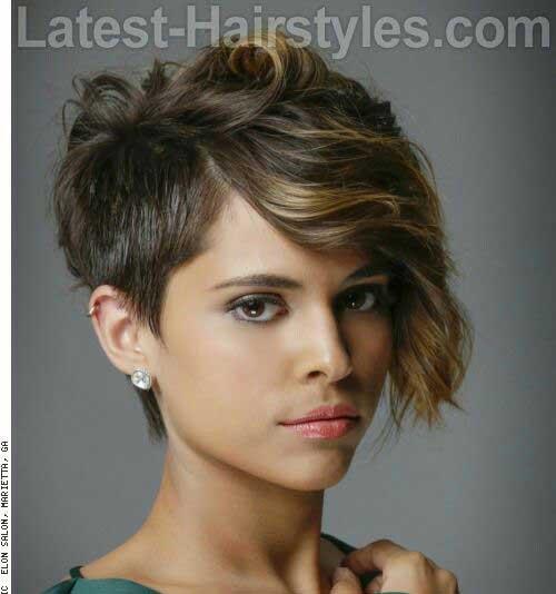 Asymmetrical Short Haircuts-10