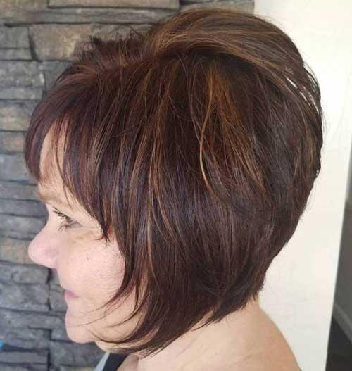 Short Layered Haircuts-11