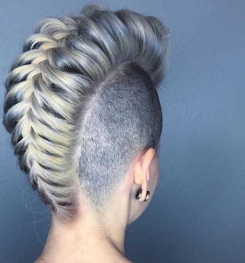 Party Hairstyles for Short Hair-12