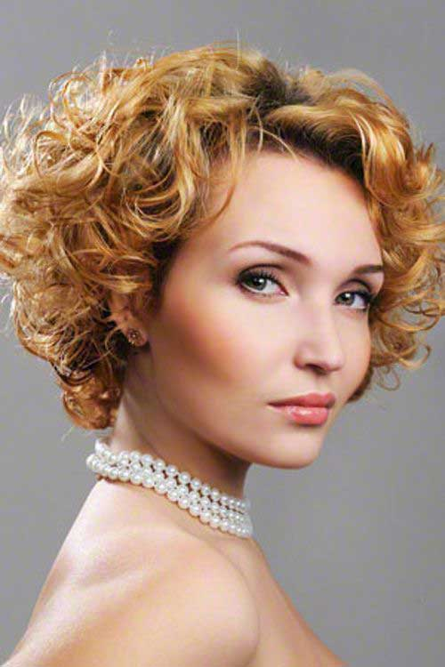 Short Curly Hairstyles-12