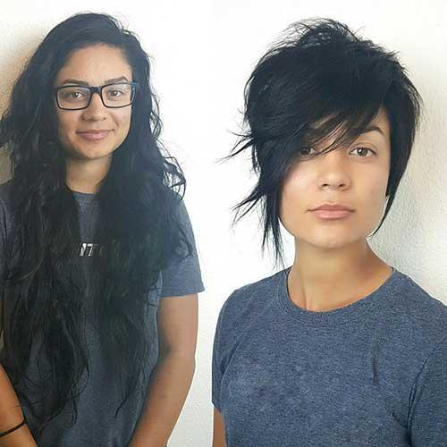 Asymmetrical Short Haircuts-15