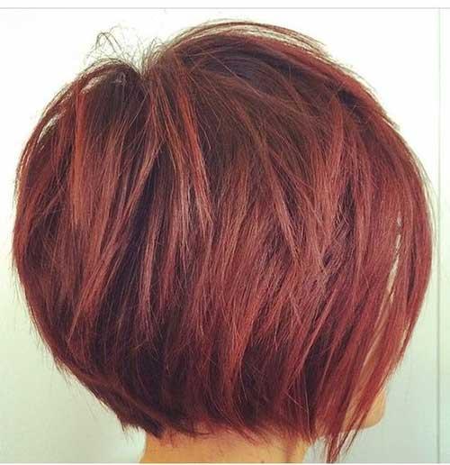 Short Layered Haircuts-15