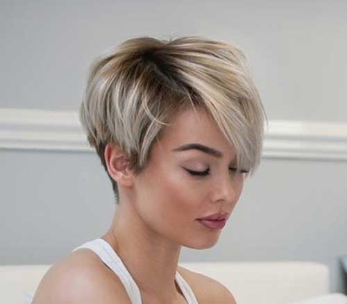 Asymmetrical Short Haircuts-9