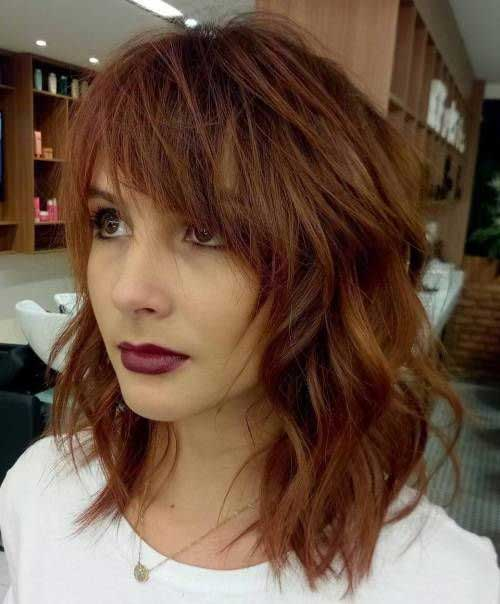 Brown Hair Bob