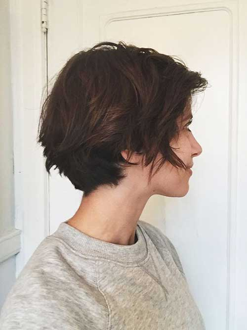 Ladies Choise Short Brown Hair Short Hairstyles 2017