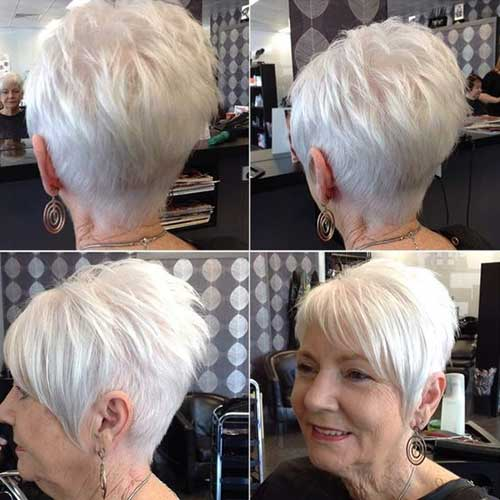 Short Hair Cuts Older Women