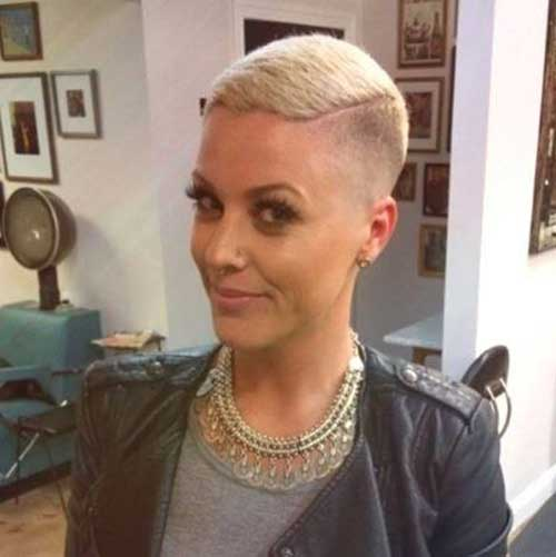 Very Short Haircuts For Pretty Ladies Short Hairstyles