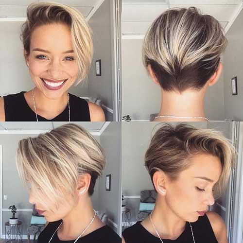 Short Blonde Hairstyles-11