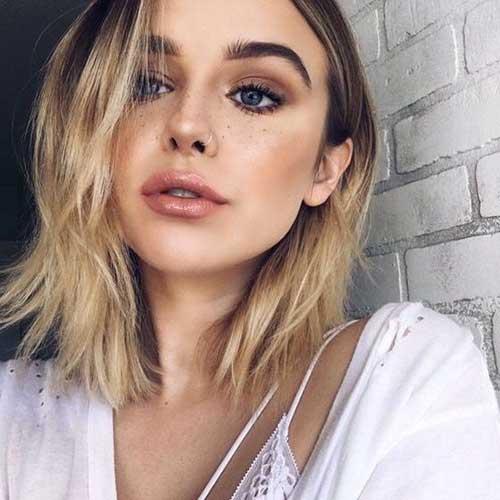Short Blonde Hairstyles-13