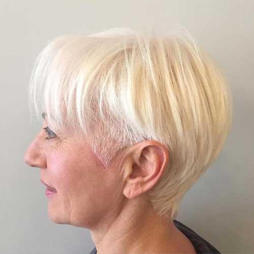 Elegant Short Haircuts For Older Women