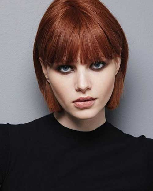 Short Haircuts for Round Faces-19