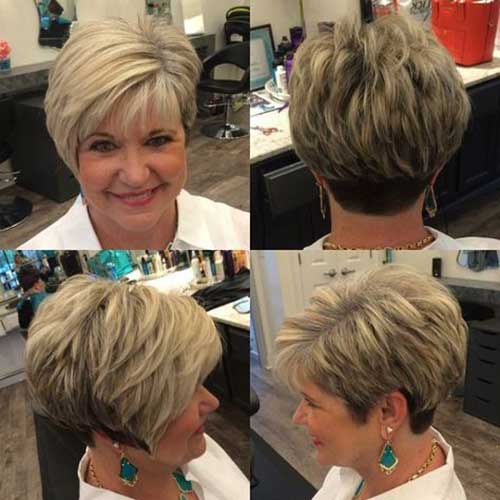 Elegant Short Haircuts For Older Women Short Hairstyles 2018