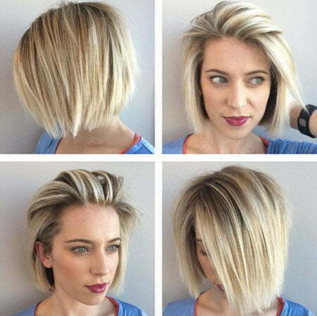 25 short straight blonde hairstyles 2017  2018